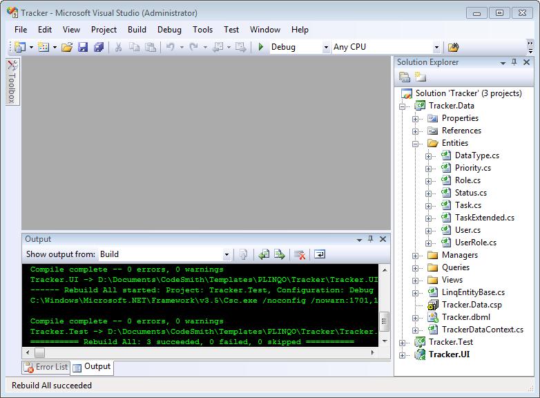 CodeSmith Tools: PLINQO - Template Properties